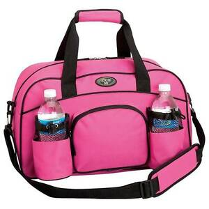 Carry on Pink 18 inch Sport Duffel Bag yoga gymnastics girls women woman