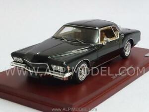 Buick Riviera 1971 noir 1:43 Truescale Tsm134308