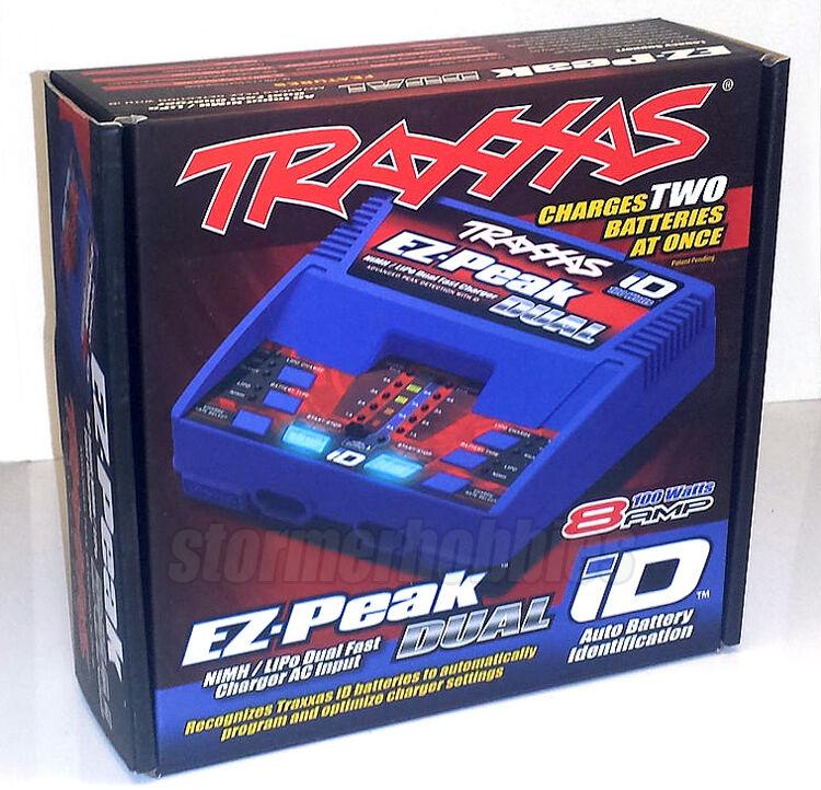 Traxxas 2972 EZ-Peak DUAL Output Auto-iD LiPo NiMH NiCad Charger FREE-SHIPPING