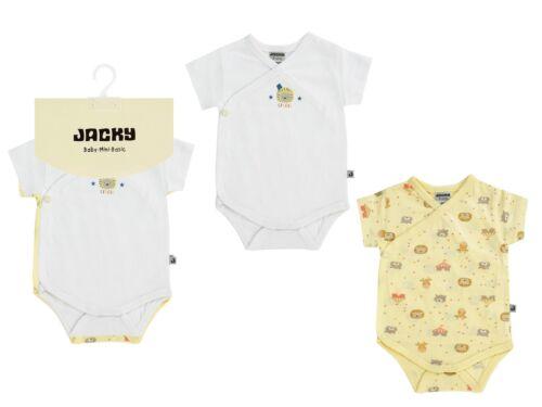 "50//56-86//92 Jacky Baby Wickel Body 2er-Pack /"" Circus/""  Unisex Gr"