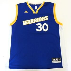 Adidas NBA Golden State Warriors  30 Steph Curry Basketball Jersey ... 8a3ea9858