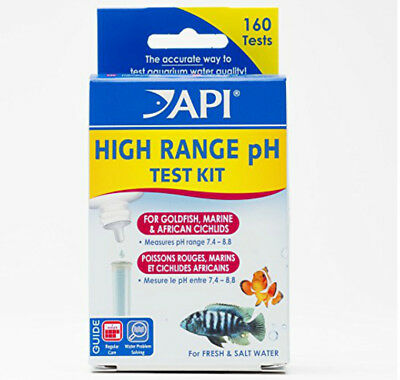 * Api * Alta Gamma Ph Test Kit Per I Pesci Rossi, Marini E Ciclidi Africani 160 Test-e And African Cichlids 160tests It-it Mostra Il Titolo Originale Prestazioni Superiori