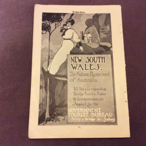 Advertisment New South Wales OR Mail Smship Services 1907