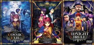 Tragedy-Looper-Midnight-Circle-Cosmic-Evil-Bundle-Board-Game-Z-Man-NEW