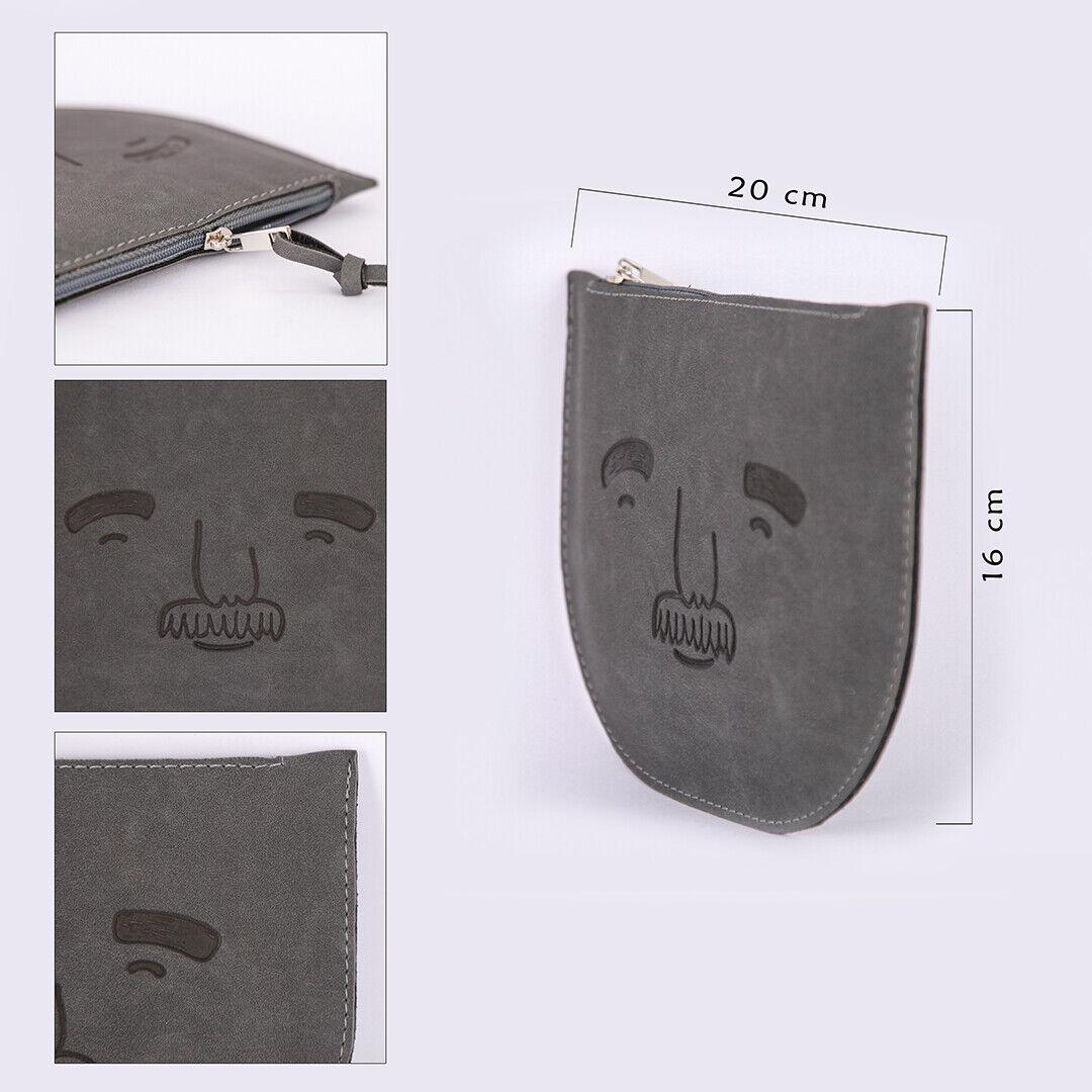 Leather Design Naugahyde Wallet High Quality Handmade Luxury Bag Face Fun
