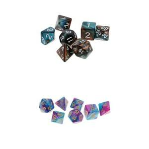 2-Pack-of-14pcs-Polyhedral-Dice-Set-for-D-amp-D-DnD-RPG-Party-Game-Accessories