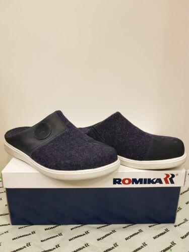 Romika Gomera H02 Filz mit fester Laufsohle und herausnehmbaren Einlagen Gr.42