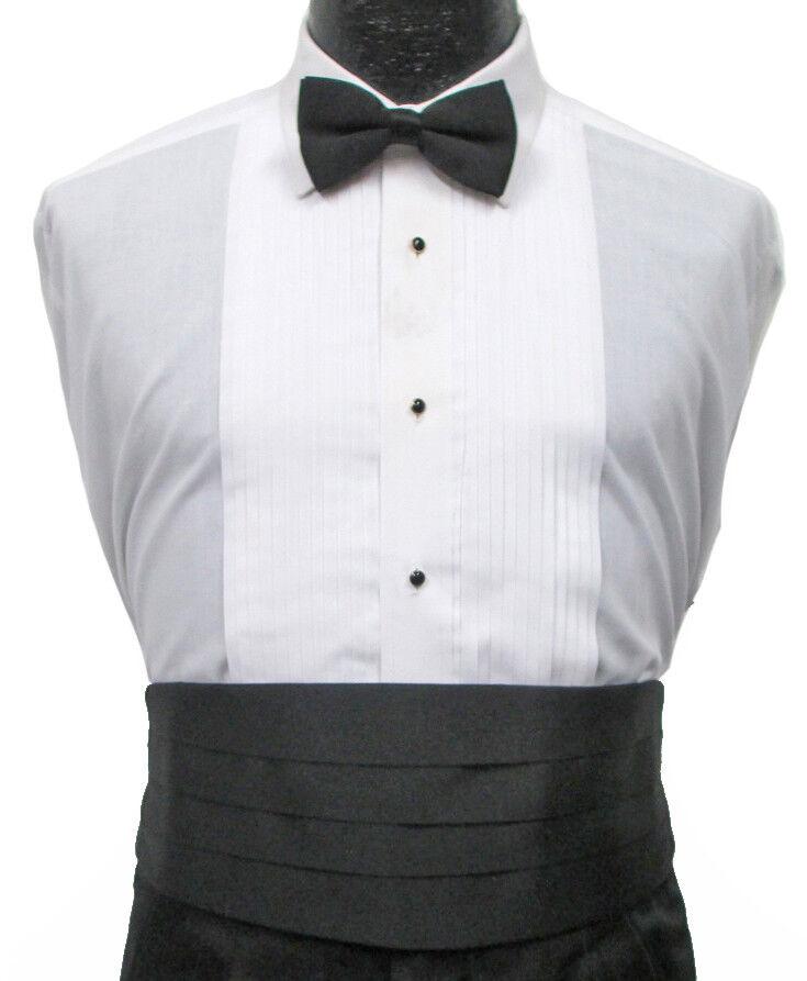 New Men's Black Satin Cummerbund Wedding Groom Prom Mason Cruise *Free Shipping*