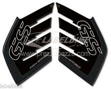 ADHESIVOS 3D LATERAL compatible MOTO BMW R1200 GS AVENTURAS 2006-2013 CARBONO