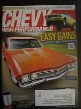 Chevy High Performance Magazine February 2012 SS Chevelle Barn Find S