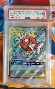 Pokemon-S-amp-M-Team-Up-Magikarp-amp-Wailord-GX-Alternate-FA-161-PSA-10-GEM-MINT