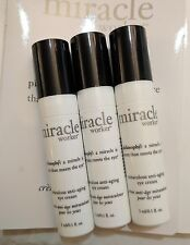 Philosophy Miracle Worker Miraculous Anti Aging Serum Eye Cream 3 pcs 0.1oz each
