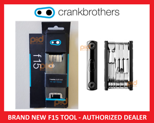 15 Bike Tools NEW Crank Brothers F15 Multi-Tool for Bicycle