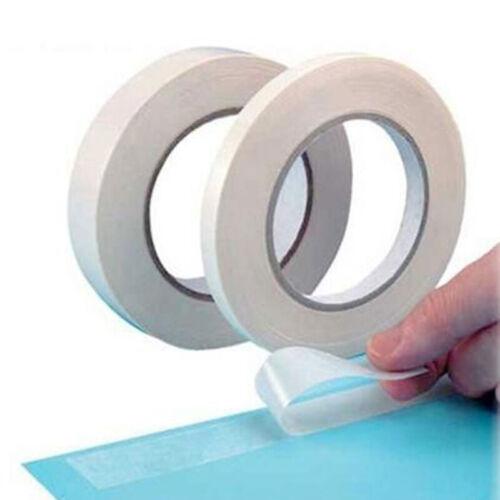 5M 8M Weiß Superstarkes doppelseitiges Klebeband Papier Doppelseitiges 0USPGU