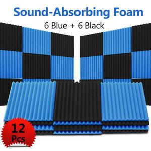 12x insonorisation acoustique cale studio mousse carreaux. Black Bedroom Furniture Sets. Home Design Ideas
