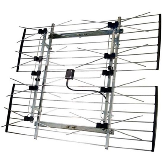 4228HD summitsource Channel Master CM-4228HD UHF 8-Bay Bowtie Antenna HDTV Long Range CM4228 w/Cable