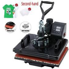 Secondhand 360 Swing Away Press 1250w T Shirt Heat Press Machine W Heat Pad More