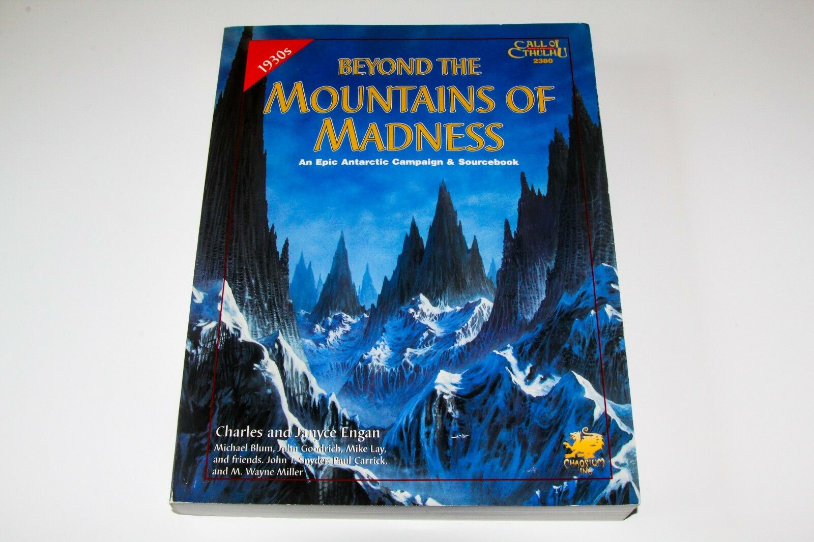 CALL OF CTHULHU - BEYOND THE MOUNTAINS OF MADNESS - CHAOSIUM