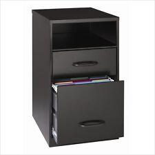 Filing Cabinet File Storage Hirsh Industries 2 Drawer Water Resistant in Black