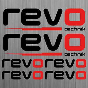 Revo-Technik-aufkleber-sticker-decal-car-set-6-Stucke-Pieces