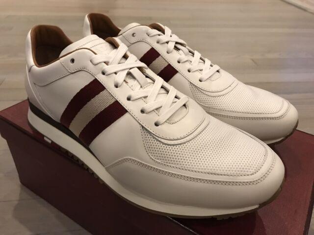 Bally Aston 07 White Leather Sneakers