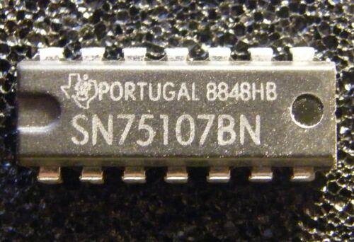 Texas Instruments 10x SN75107BN Dual Line Receiver