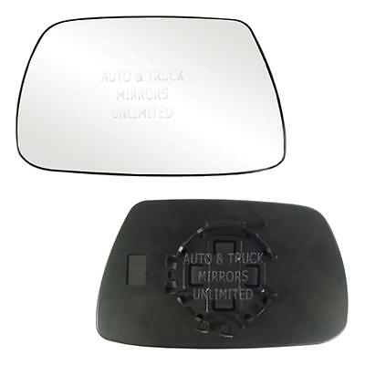 New Door Mirror Glass Replacement Driver Side For Jeep Grand Cherokee 05-10