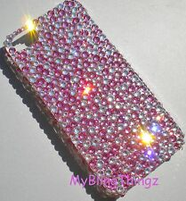 BUMPY Crystal Back Case PINK & CLEAR For iPhone 4 4S Made w/ SWAROVSKI ELEMENTS