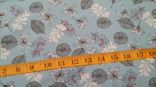 New-100/% Cotton Fabric-Floral//Foliage////Geometric Designs-FQ to Yard