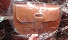 borsa DONNA in CUOIO PELLE  CON Tracolla Artigianale bag 30x20 L7CM