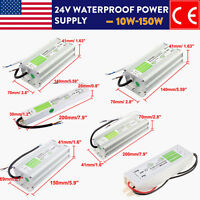 Ac90-250v To Dc24v Ip67 Waterproof Led Transformer Power Supply For Strip Driver