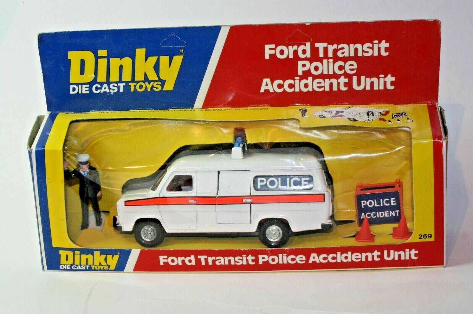 Dinky 269 Police Accident Unit, Excellent Condition in in Original Box