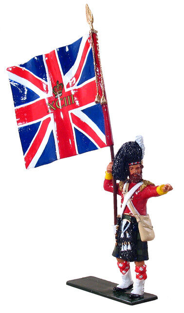 Britains 44014 British Ensign - 93rd {Sutherland} Highlanders