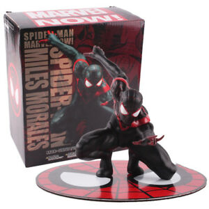 Marvel-Spider-Man-Meilen-Morales-ARTFX-Statue-PVC-Action-Figur-Modell-Spielzeug