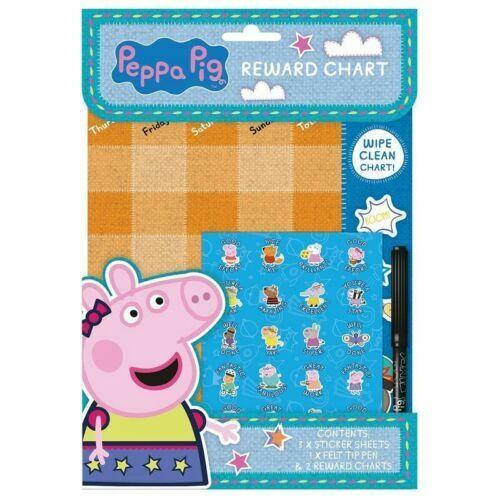 Pads Festa Bambini Peppa Pig Colorare Adesivi Attività Confezioni George