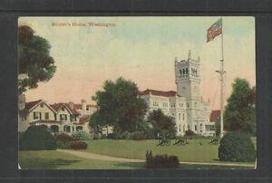 1910s-SOLDIERS-HOME-WASHINGTON-DC-POSTCARD-Card-4018