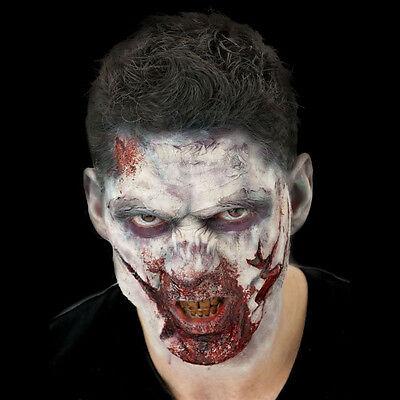 Zombie FX Halloween Prothetic Latex Appliances + Spirit Gum & Blood & Makeup