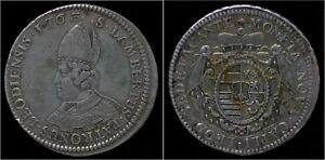 Liege-Sede-Vacante-Ecu-au-St-Lambert-1763