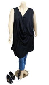 Taking Shape Sleeveless V Neckline Top | Plus Size: 24
