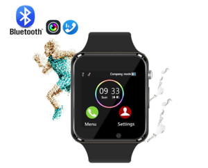 GL Smart Watch Bluetooth Smart Watch Touchscreen Armbanduhr Fitness Tracker