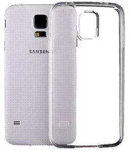 Para-Samsung-Galaxy-S5-caso-Gel-Crystal-Clear-TPU-silicona-goma