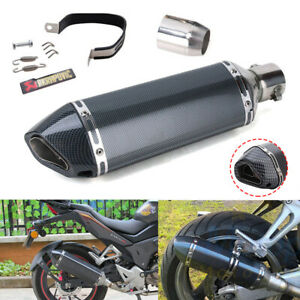 51mm Universal Motorcycle ATV Scooter Exhaust Muffler Tail Pipe with DB Killer