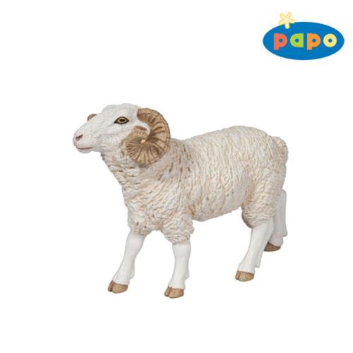 O22 Neuf PAPO Mouton Bélier Bouc Animaux Ferme Animaux 51129