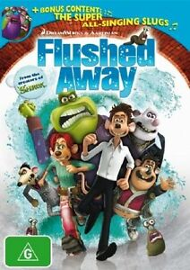 FLUSHED-AWAY-DVD-Dreamworks-Animation-Bonus-Content-The-Super-All-Singing-Slugs