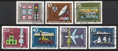 Aufstrebend Bund Nr.468/74 Internationale Verkehrsausstellung 1965, Gestempelt