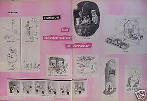 DESSIN-HUMORISTIQUE-1958-SEMPE-TREZ-LA-DECLARATION-D-039-AMOUR
