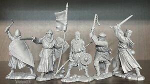 Nouveau Publius! Chevaliers croisés Toy Soldiers Publius runcraft 1:32 Set Complet