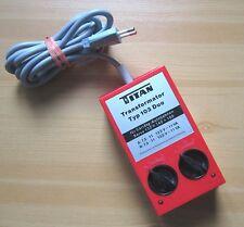TITAN Typ 103 Duo Trafo für Carrera Rennbahnen 132+140+160 Transformator gut (2)