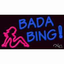Brand New Bada Bing 37x20 Withlogo Real Neon Sign Withcustom Option 11659