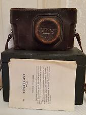 1966 FED 2 USSR Russian Rangefinder camera lens Industar 26m 50/2,8 BOX Manual